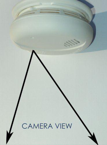 Wireless Spy Camera with Wi-fi b/g/n, Recording & Remote Internet Access (Camera Hidden in a Smoke Detector)