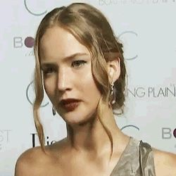 Jennifer Lawrence at the Burning Plain premeire in 2009