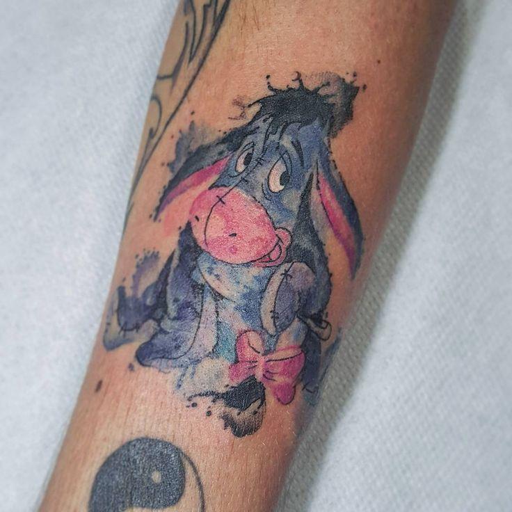 Best 25+ Eeyore Tattoo Ideas On Pinterest