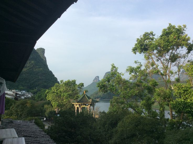 Yangshuo , our view from our hotel