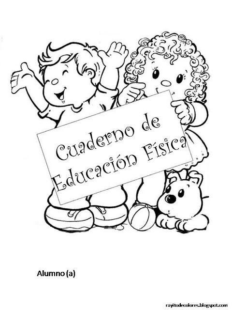 CoSqUiLLiTaS eN La PaNzA BLoGs: Carátulas para cuadernos escolares ...