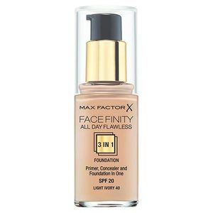 Max Factor All Day Flawless 3 in 1 Foundation Light Ivory 40