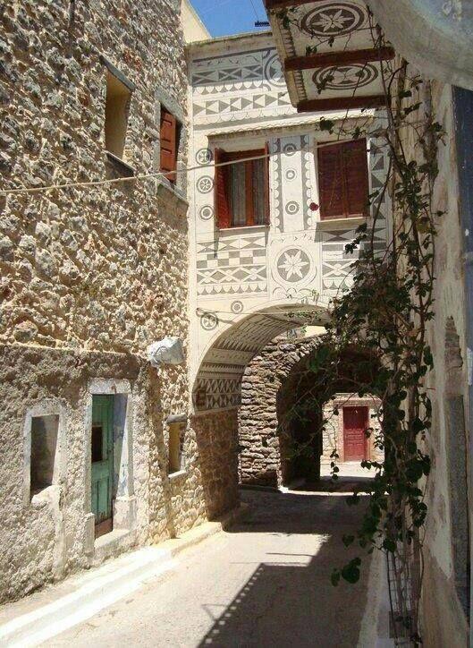 Pyrgi - Chios, Greece