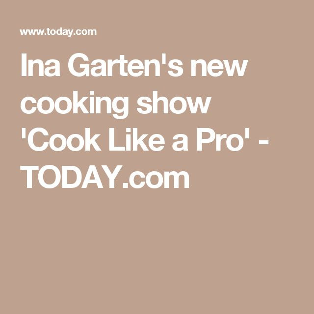 ina gartens new cooking show cook like a pro - Barefoot Contessa Goat Cheese Chicken