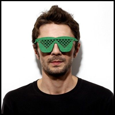 Unisex Pub/Party Felt Glasses (Fake Disco)