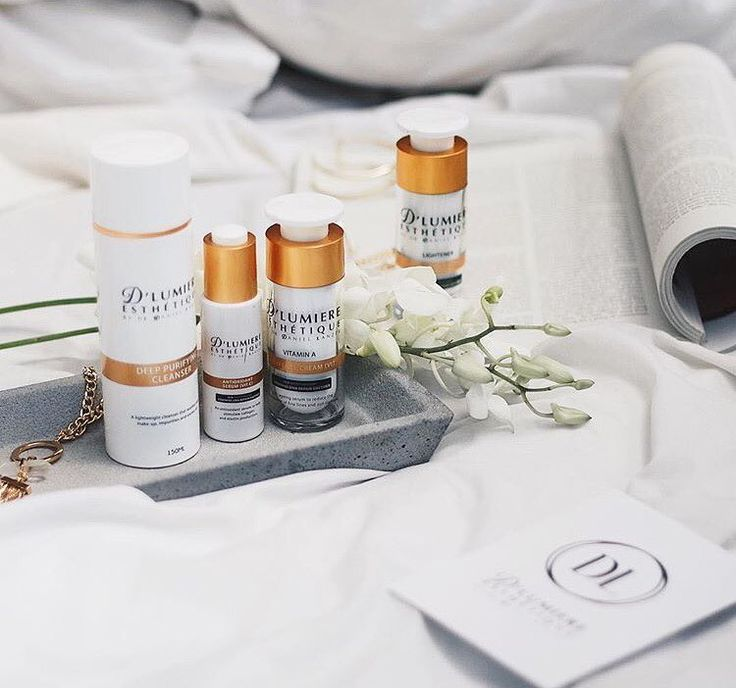 We love this great image of some of our D'Lumiere Esthetique skincare products shot by @gemkwatts.  Make sure you treat yourself at the end of the week by purchasing our products.  We have something to suit all skin types and requirements!
