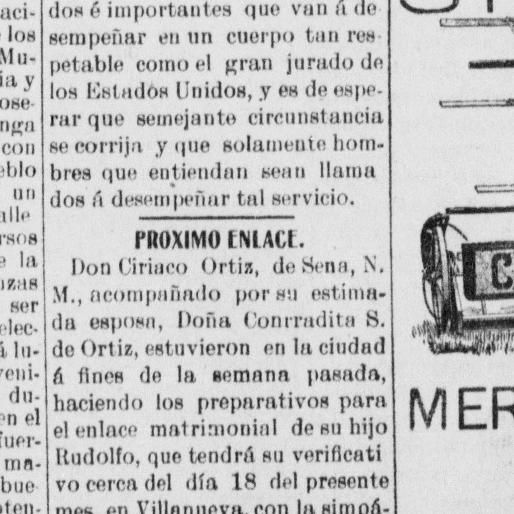 El independiente. (Las Vegas, Nuevo México) 1894-19??, November 14, 1907, Image 1, brought to you by University of New Mexico, and the National Digital Newspaper Program.