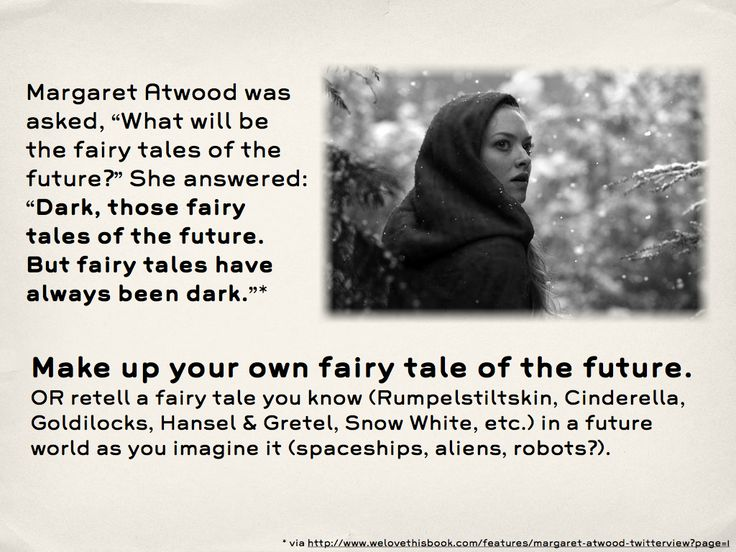 writing prompts : 557 dark future fairy tales