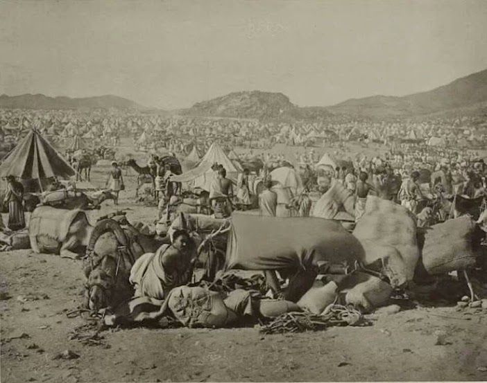 Old picture of Hajj in 1910.  I have always been interested in the history, the…
