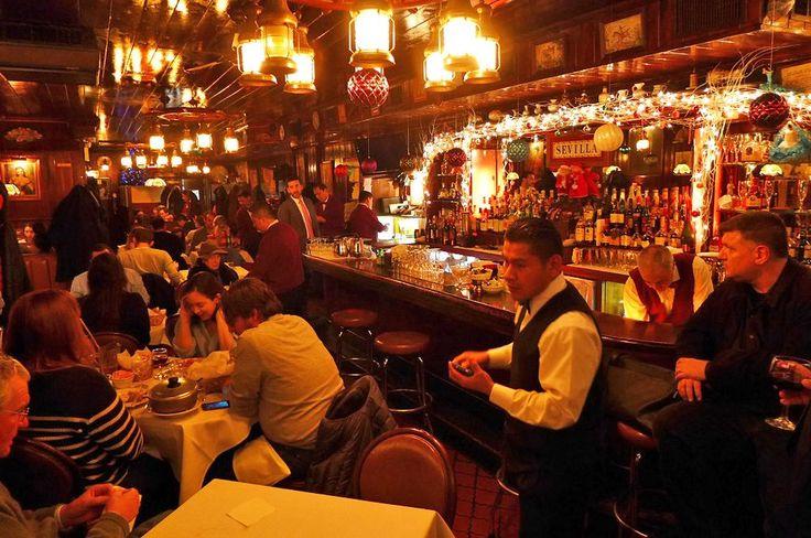 Sietsema's favorite old fashioned Spanish restaurants