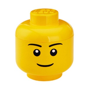 LEGO Storage Head Boy L, 19€, now featured on Fab.