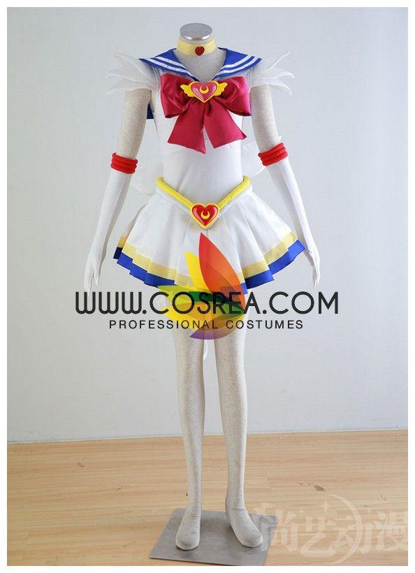 $125.00 Sailormoon Super S Sailor Moon Cosplay Costume - Cosrea  - 3