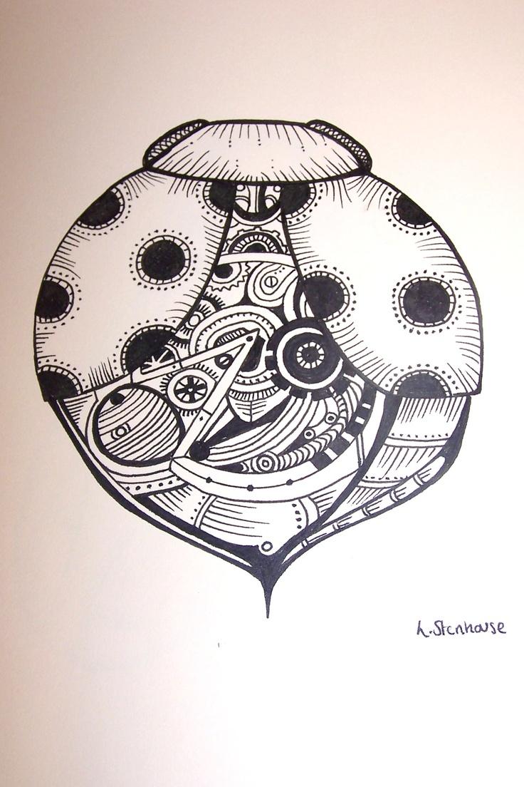 Mechanical Ladybird   by Laura Stenhouse