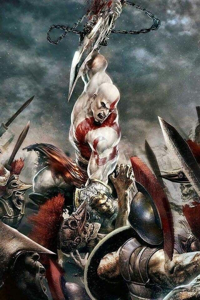 Pin On God Of War Kratos