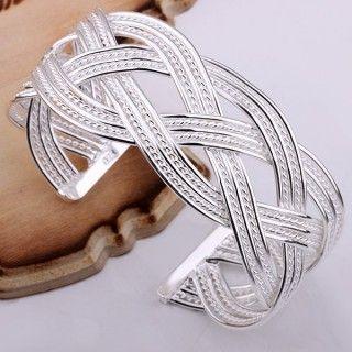 925 Sterling Silver Bracelet Bangles