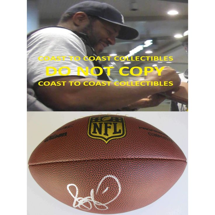 Jerome Bettis, Pittsburgh Steelers, Notre Dame, Signed, Autographed, NFL Duke Football, a COA with the Proof Photo of Jerome Signing Will Be Included