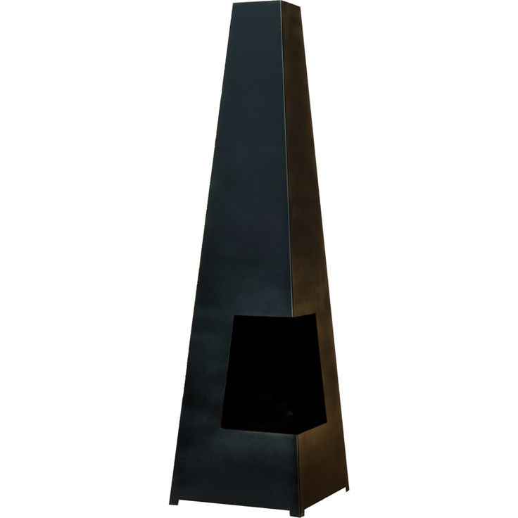 Ideal for entertaining all year round, this contemporary chimenea burns solid fuel and is the perfect addition to any patio or backyard. Constructed from heavy gauge steel, its angular, modern appearance is sure to create an inviting space.