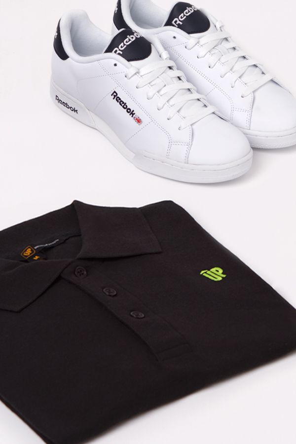 Outfit Man: Reebok + UP
