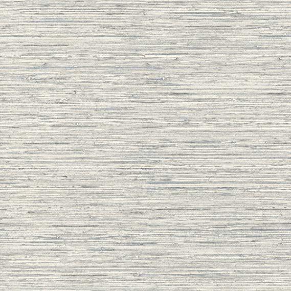 Roommates Rmk11078wp Peel And Stick Wallpaper 20 5 X 16 5 Feet Gray Grasscloth Wallpaper Grasscloth Wall Coverings