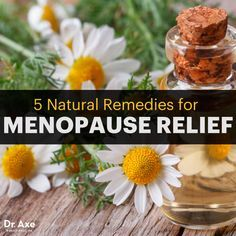 8 Natural Remedies for Menopause Relief - Dr. Axe