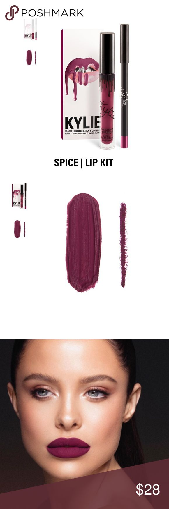 Authentic Kylie Jenner Lip Kit In Spice