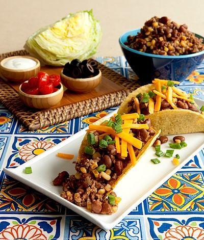 Recipe: Easy Crock Taco Filling (using ground beef, crock pot) - Recipelink.com
