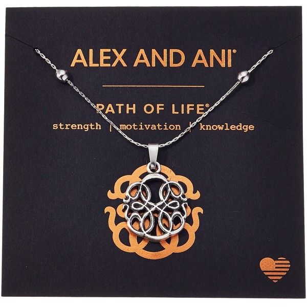 Alex and Ani Path of Symbols - Path of Life IV Expandable Necklace... (345 SEK) ❤ liked on Polyvore featuring jewelry, alex and ani jewelry, silver jewellery, chains jewelry, alex and ani and silver pendant
