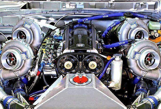 Toyota Supra 2JZ Quad Turbo