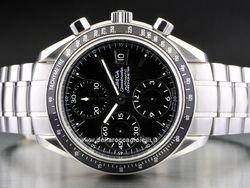 Omega Speedmaster Date - Ref. 3210.50.00 Cassa in acciaio 40mm con vetro zaffiro antiriflesso Movimento automatico cronografo, cal. 1164
