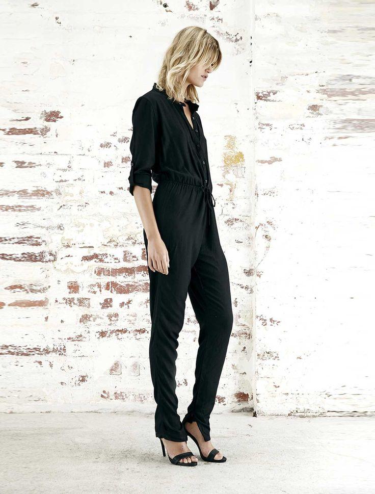 Steele - Mantra Jumpsuit - Black