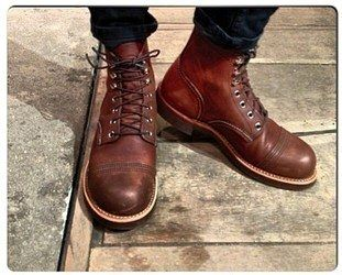 Red Wings Shoes Femme Copper