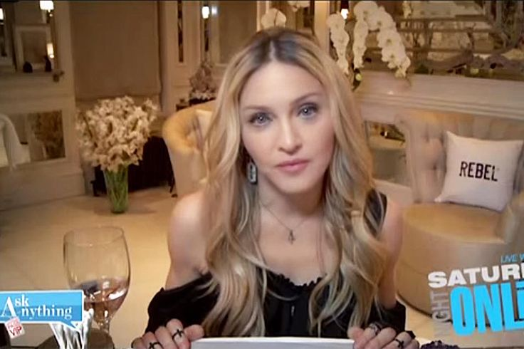 WATCH: A Rat Crashes a Live Madonna Interview - In Her Home!