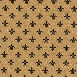 1 Yard Fabric Finders Black Fleur De Lis by angelasfabricandtrim, $10.00