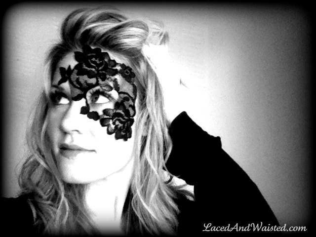 So want this for the Masqerade ball in October! Steampunk Mask ADHERES TO SKIN  no annoying by LacedAndWaisted, $40.00