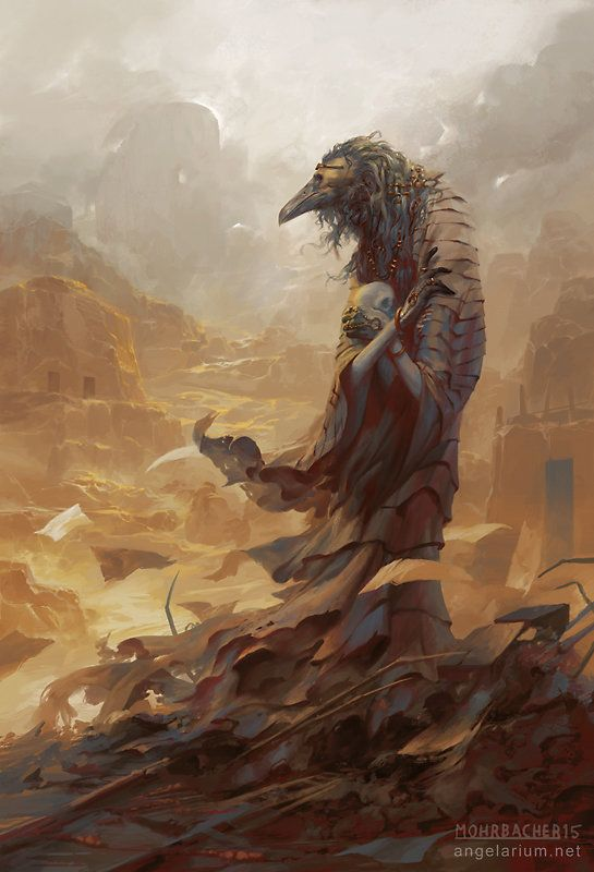 Asbeel, Angel of Ruin, Peter Mohrbacher on ArtStation at https://www.artstation.com/artwork/asbeel-angel-of-ruin