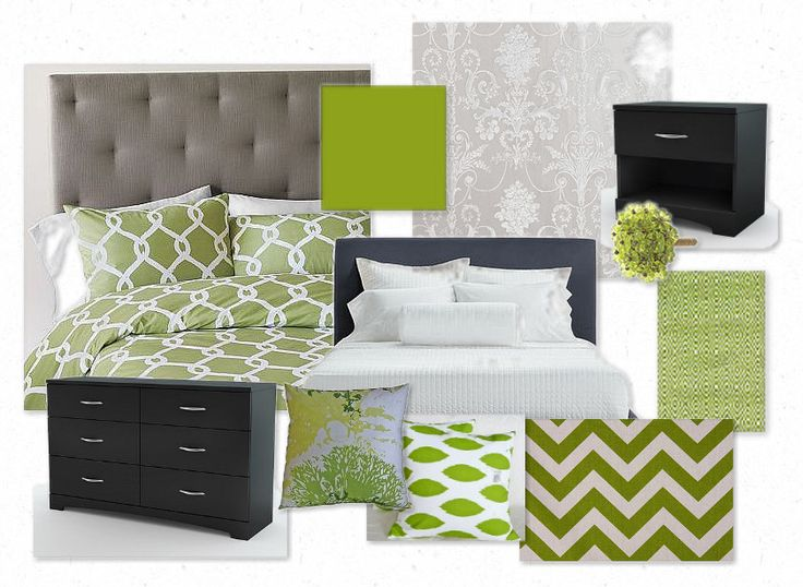 mmmm green and grey!: Bedroom Color Schemes, Color Combos, Bedroom Colors, Dining Room Colors, Grey Color