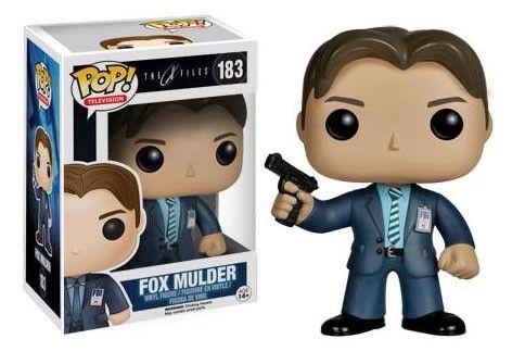 """Akte X POP! Vinyl Figur Fox Mulder   coole Fox Mulder  POP Figur zur Kultserie """"Akte X"""" - detailierte Mini- Figur, ca. 10 cm - Vinyl ( Kunststoff) - Lieferung in schicker Fensterbox Akte X - Hadesflamme - Merchandise - Onlineshop für alles was das (Fan) Herz begehrt!"""