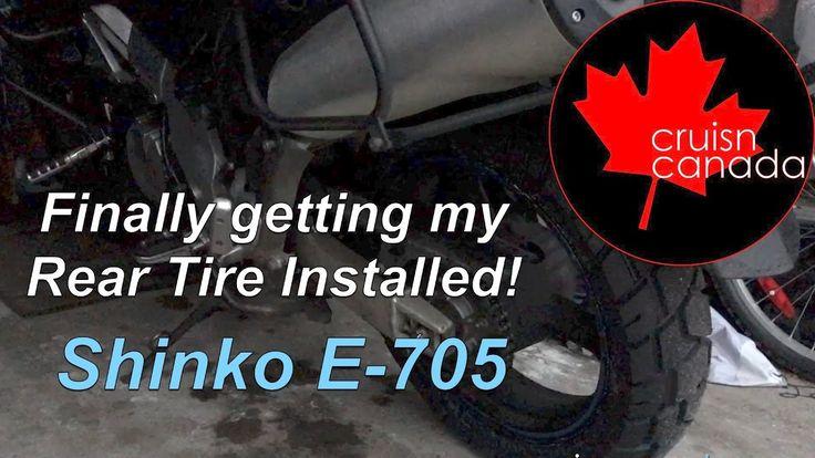Shinko E-705 Tire finally Installed