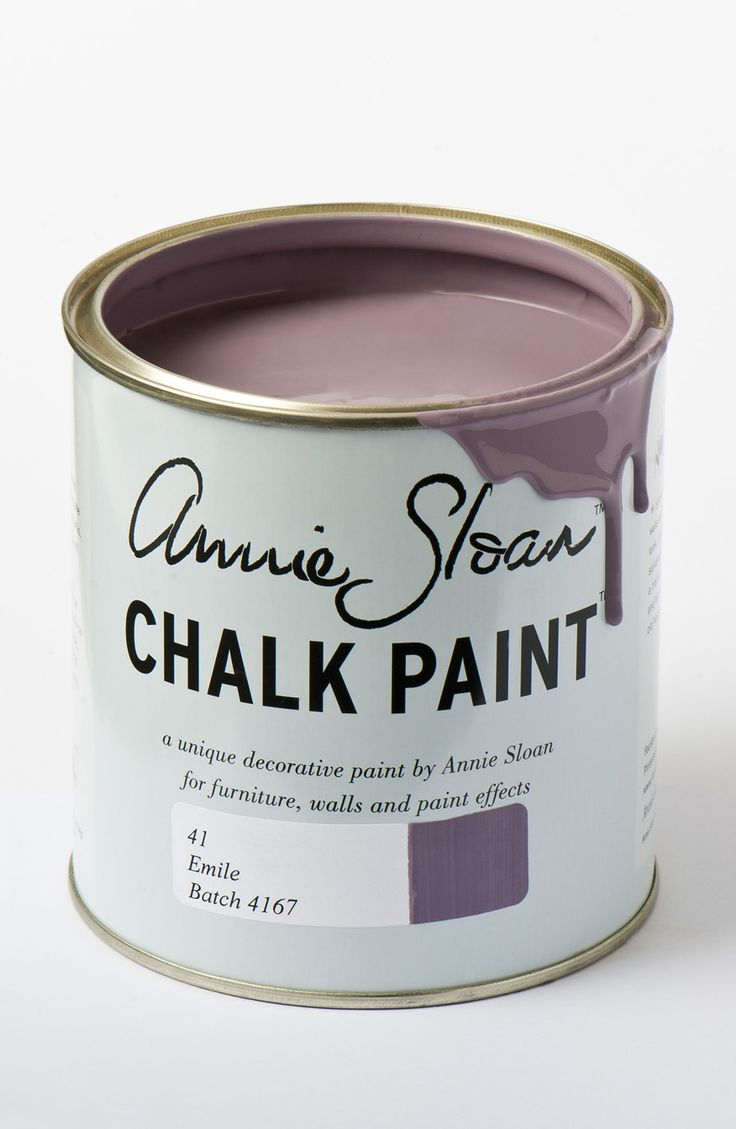 <p>A warm soft aubergine colour with pink red undertones giving a rich complexity that makes beautifully sophisticated lilac tones when Old White is added. A colour first by artists and then later in decorative work, Emile finds its beginnings in bohemian Paris.</p> <p>Available in 100ml small project pots and 1 litre tins.</p>