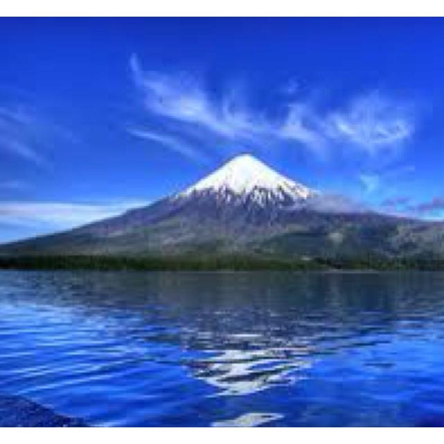 Puerto Montt volcán Osorno.... Que lindo!!!