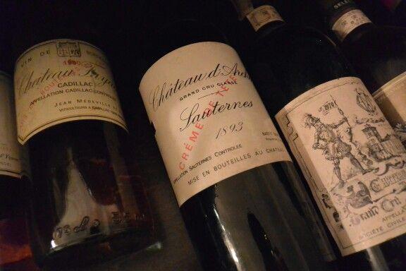 Wine in the cellar