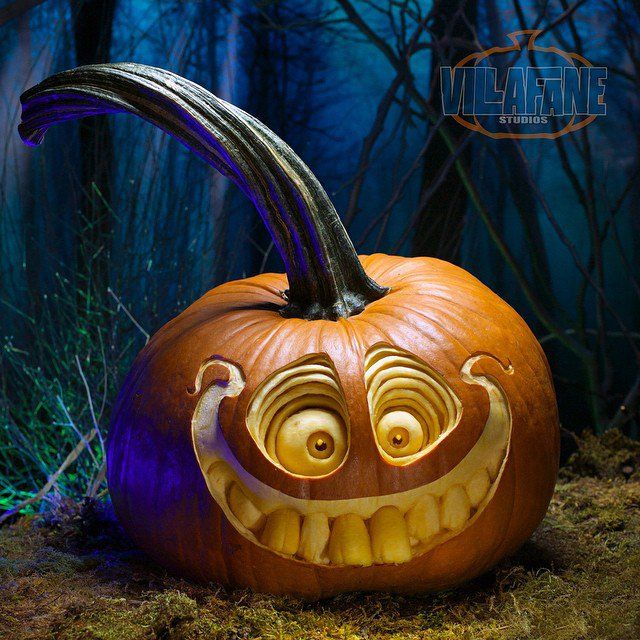 Frighteningly Cute Pumpkin Sculptures by Villafane Studios More