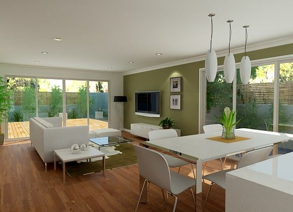 Sekisui house australia designs satori 200 open plan for Interior design open plan kitchen living area