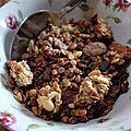 Granola maison - recette de base de bernard laurance