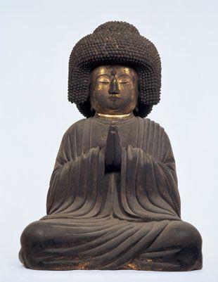 奈良 東大寺 五劫思惟阿弥陀像 勧進所 Gokoushii amida nyorai Todaiji  Nara Japan