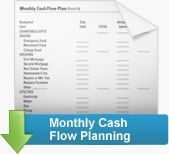 Dave Ramsey free budgeting forms- Tony and I used this to plan our monthly budget and are debt free except for our house!