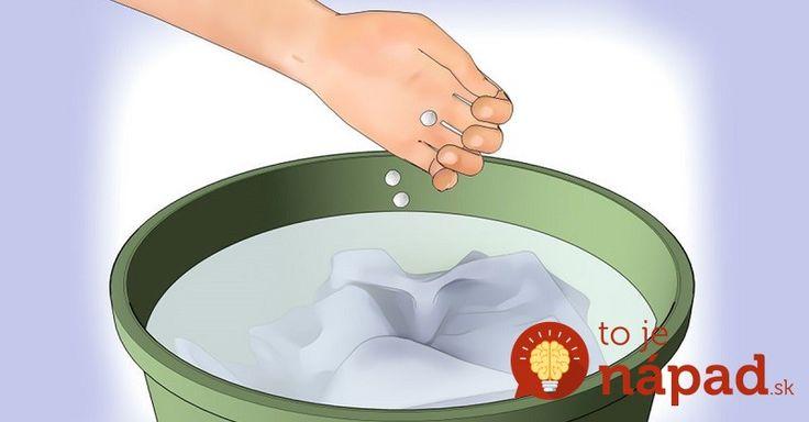 Aspirín nie je obyčajný liek. Toto dokáže, ako ho pridáte do prania!