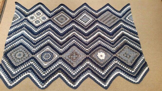 In progress ripple  blanket