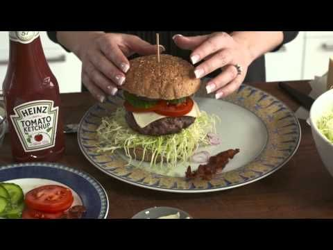 Slank med burger...... - YouTube