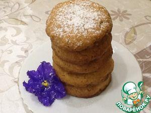 Рецепт: Самое настоящее американское печенье
